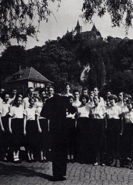 Rundfunkjugendchor 1956 - Gerhard Bombös