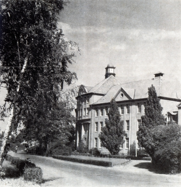 Wilhelm-Raabe-Schule, frühere Knaben-Mittelschule 1956 - Gerhard Bombös