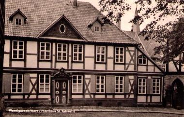 Bild aus dem Jahr 1963 - Stadtarchiv Wernigerode
